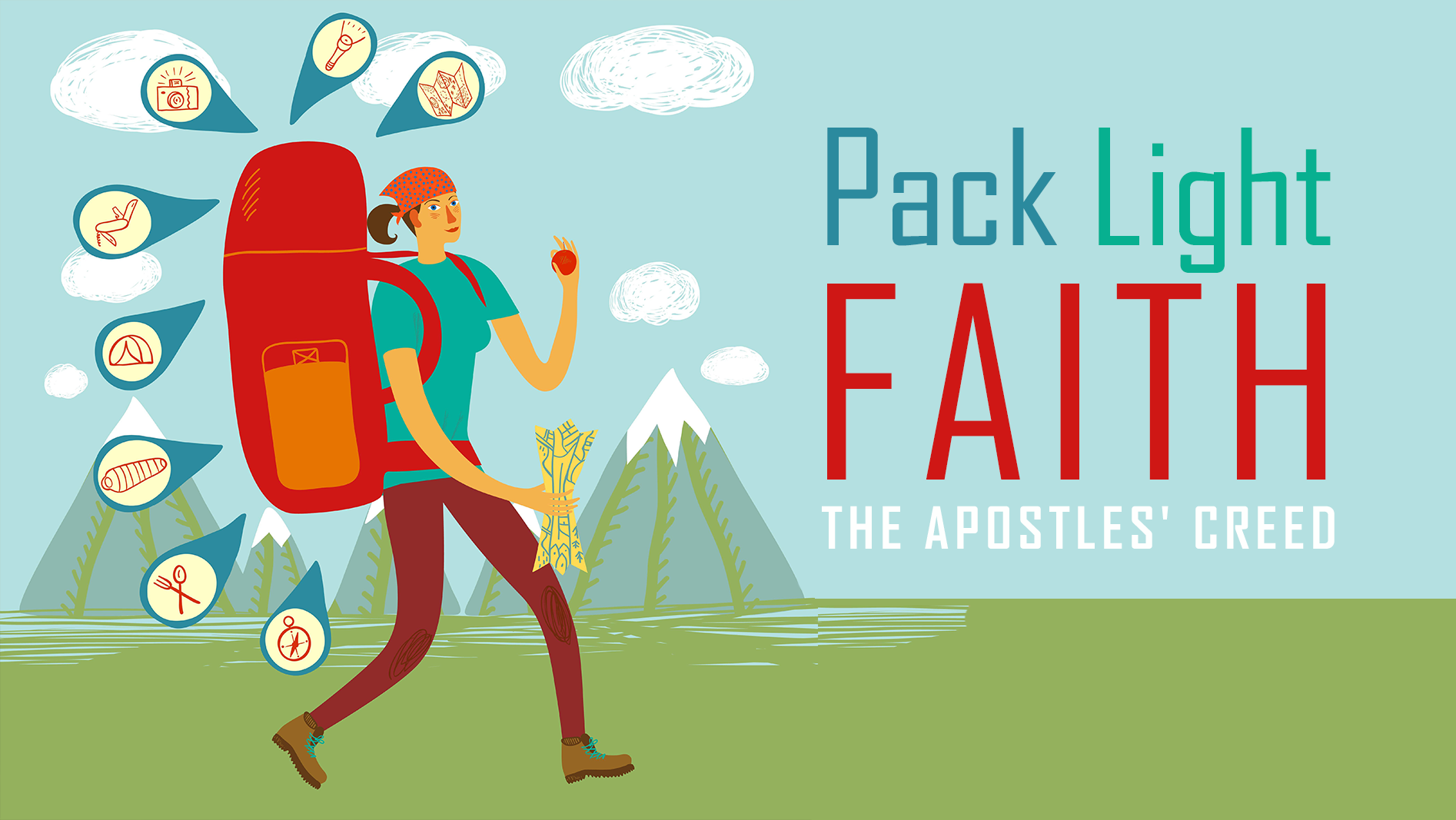 Pack Light Faith